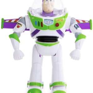 New! Disney Toy Story 4 Buzz Lightyear Remote Control Figure Retractable Wings